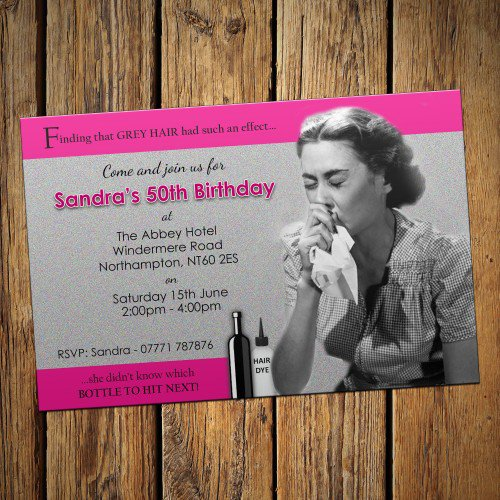 Humorous Birthday Invitations For Adults