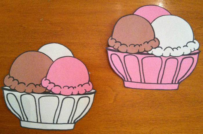 Ice Cream Template Printable