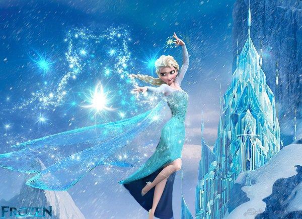Ice Palace Disney Frozen Invitation