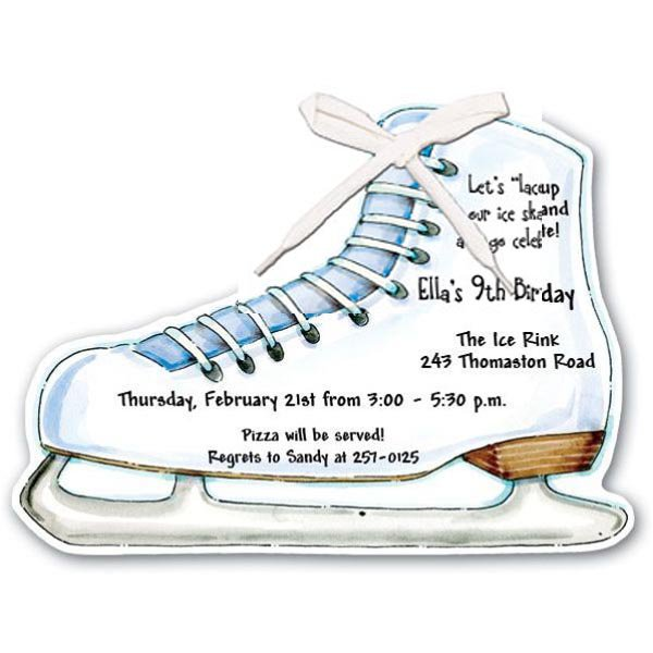 Ice skating invitations wording stopboris Image collections