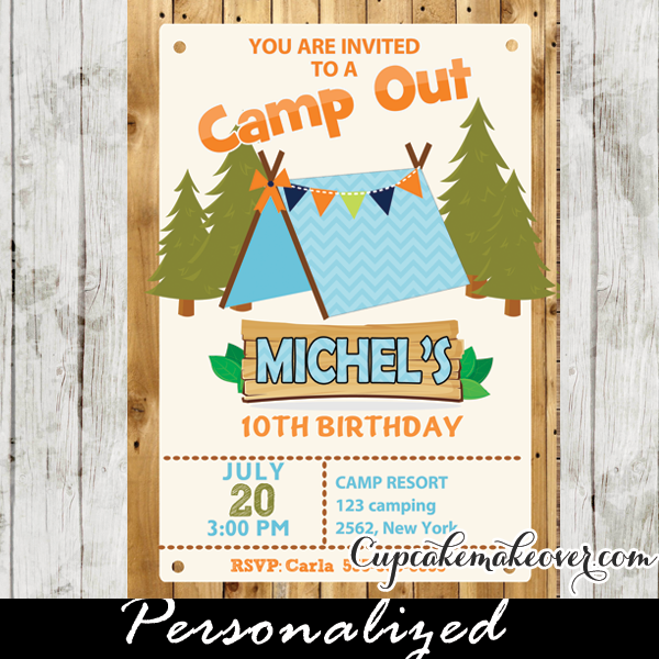 Ideas For Boys Birthday Invitation