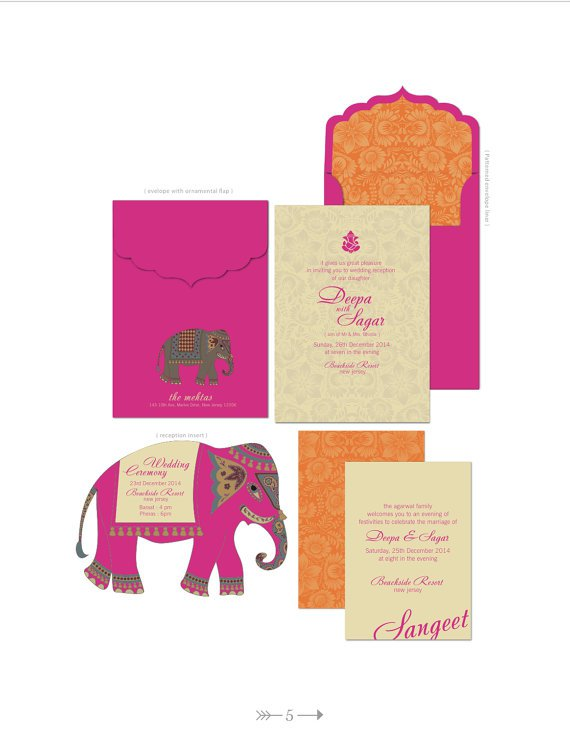 Indian Style Wedding Invitations Uk