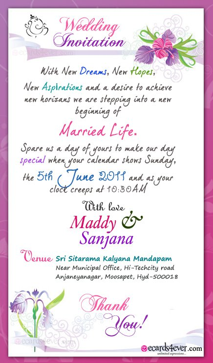 Indian Wedding Invitation Design Online