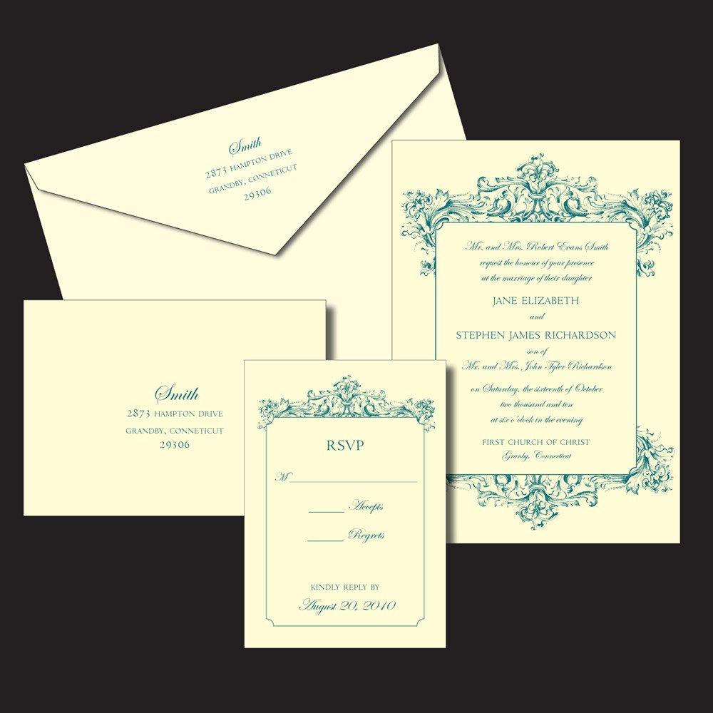 Informal Wedding Invitation Wording Second Marriage