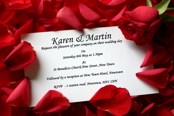 Inspirational Wedding Invitations