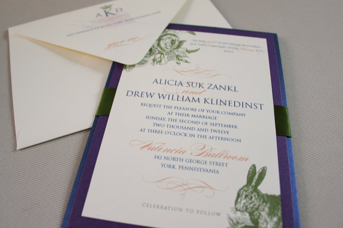 Invitation Alice In Wonderland Quotes