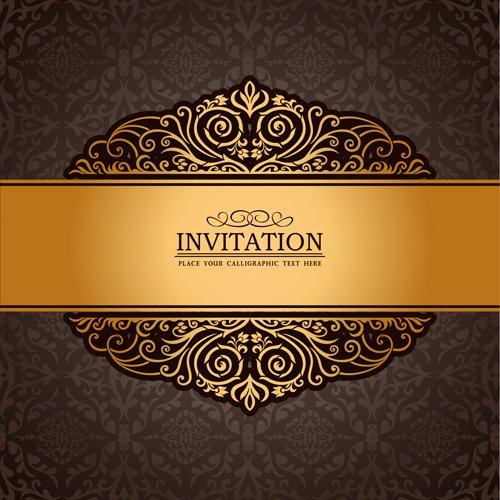 Invitation Background Designs Psd Free Download
