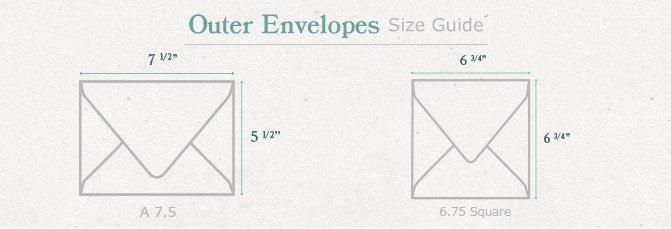 Invitation Envelopes 5x7