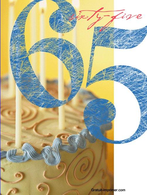 Invitation For 65