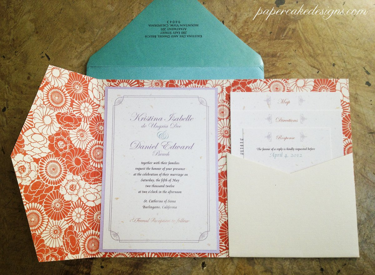 Invitations With Map And Directions
