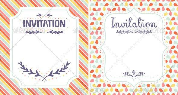 Italian Editable Invitation