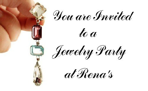 Jewelry Show Invitation Templates
