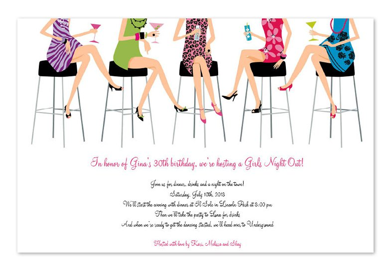 Ladies Luncheon Invitation Wording