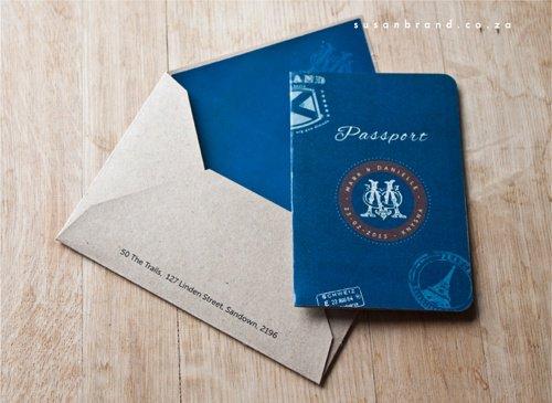 Las Vegas Passport Wedding Invitations Uk
