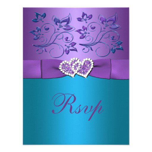 Lavender Invitations