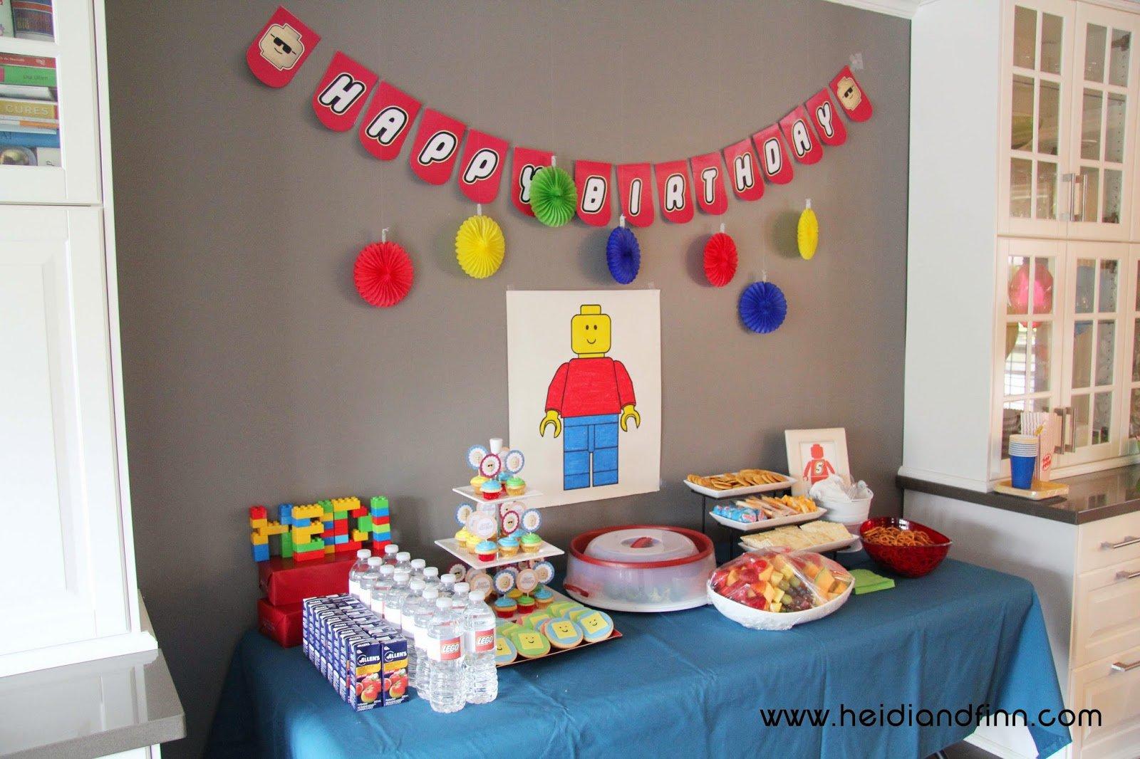 Lego Birthday Party Ideas For 8 Year Old Boy