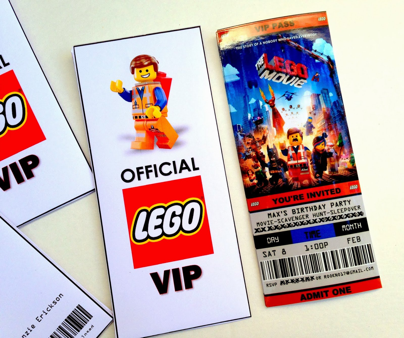 Lego Friends Birthday Invitations Free