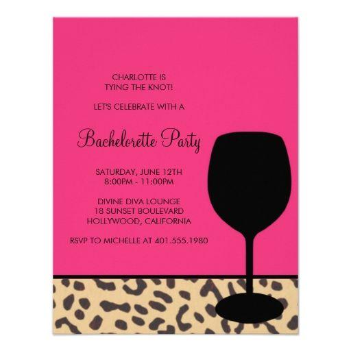 Leopard Print Party Invitations
