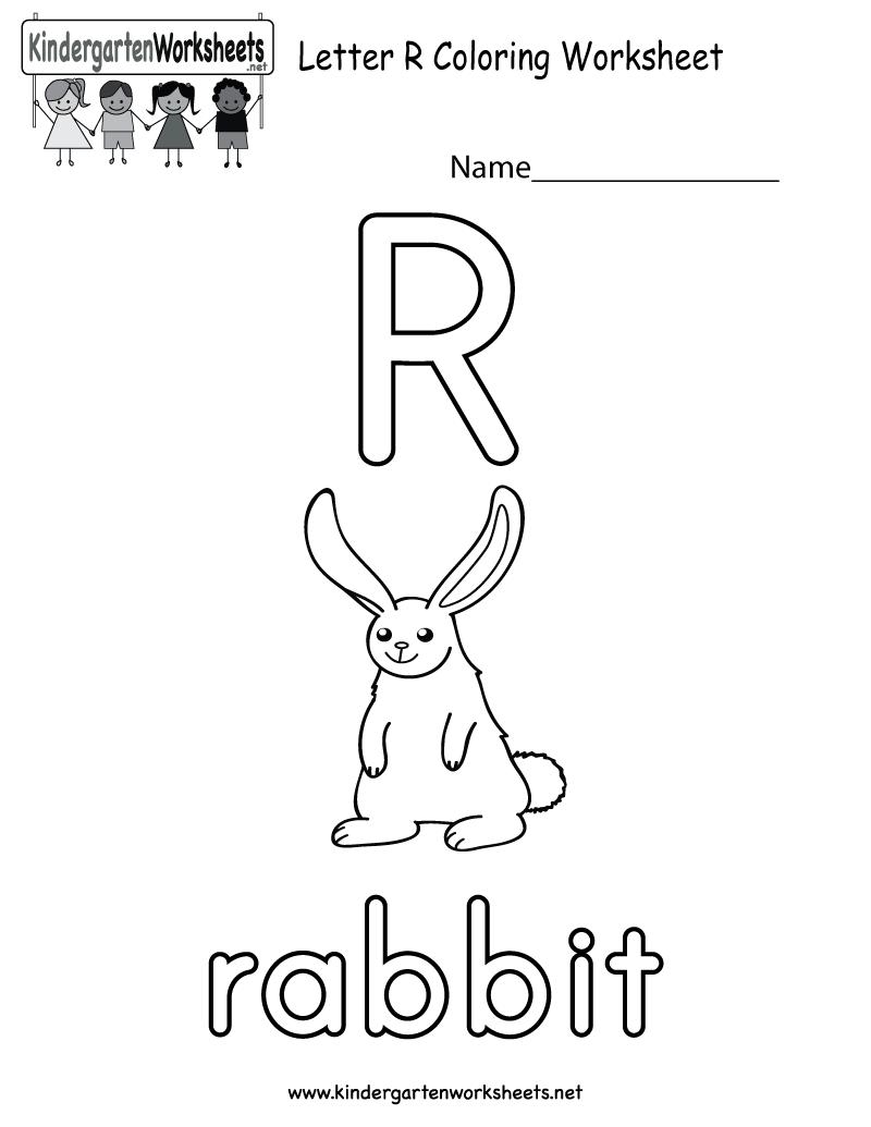 Letter R Words For Kindergarten