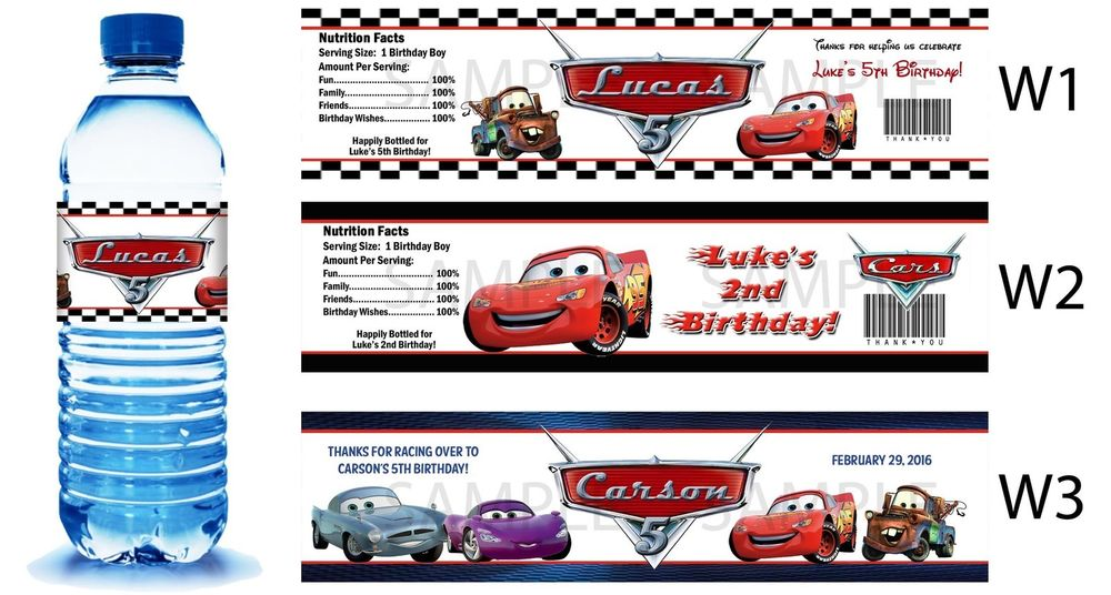 Lightning Mcqueen Party Favors