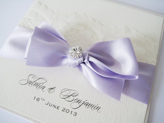 Lilac Wedding Invitations Uk