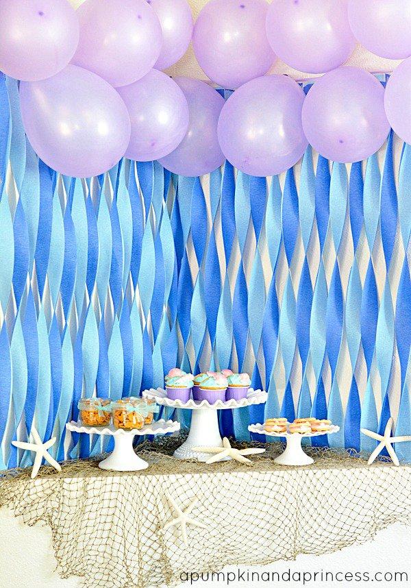 Little Mermaid Birthday Decorations
