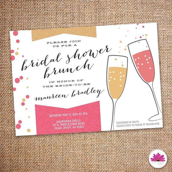 Looking For Bridal Brunch Invitations