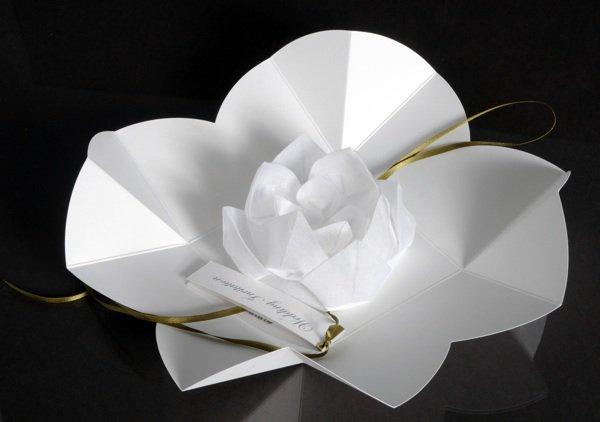Lotus Flower Invitation In Box