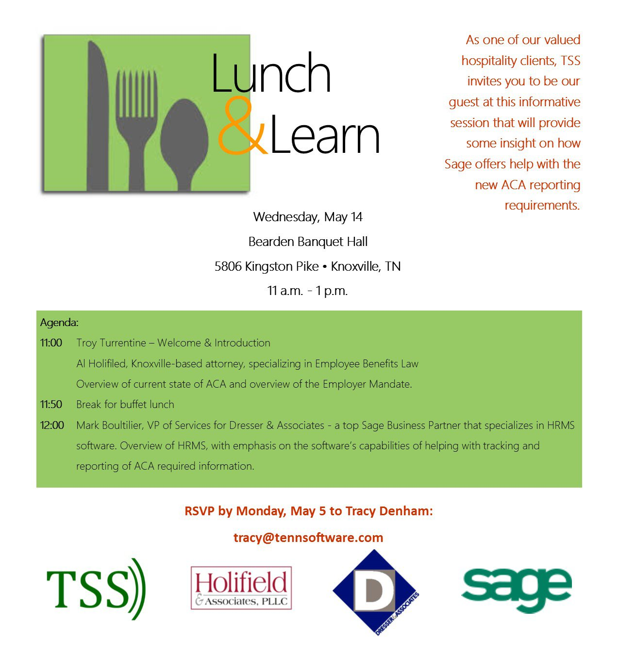 lunch and learn invitation template