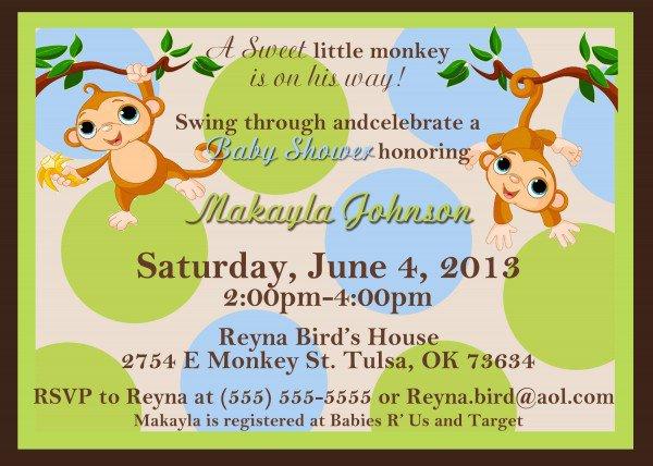 Luxury Baby Girl Shower Invitations