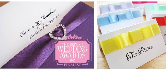 Luxury Bespoke Handmade Wedding Invitations