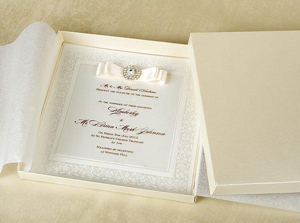 Luxury Vintage Wedding Invitations Uk