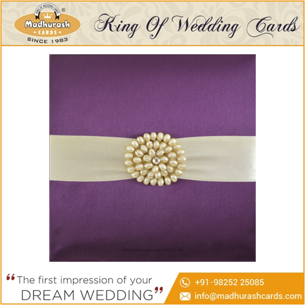 Luxury Wedding Invitation Cards India