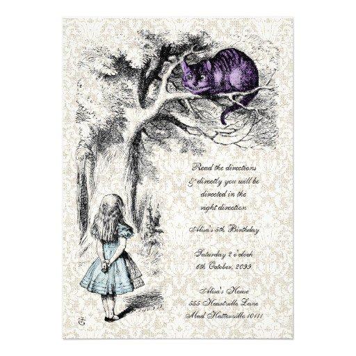 Mad Hatter Tea Party Invitations Printable