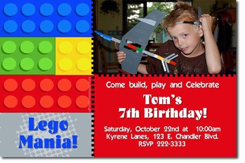 Make A Lego Invitation