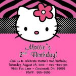 Make Hello Kitty Invitations