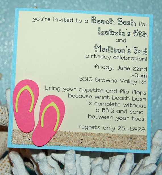 Make Your Own Shark Invitations