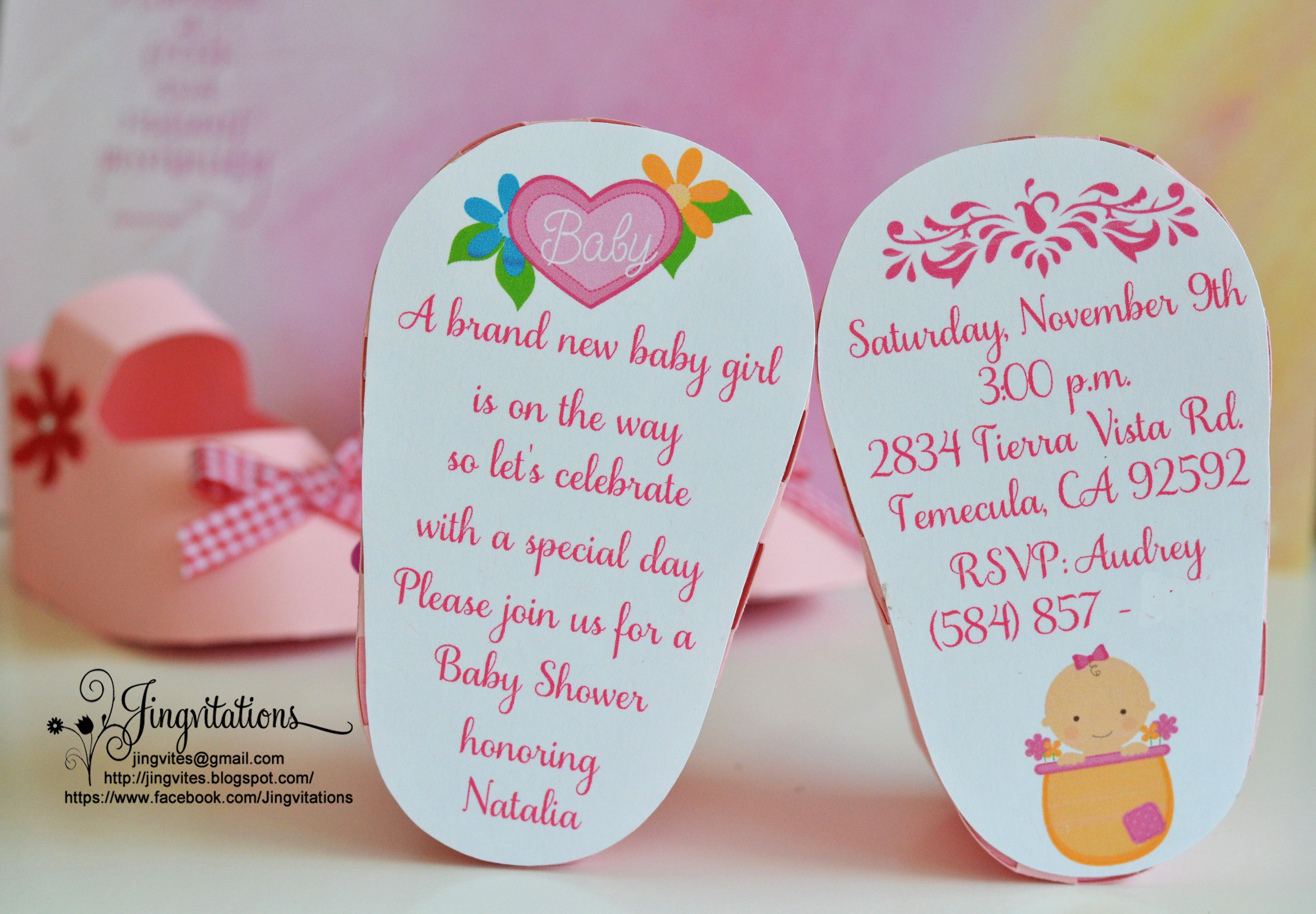 Make Your Own Strawberry Invitations