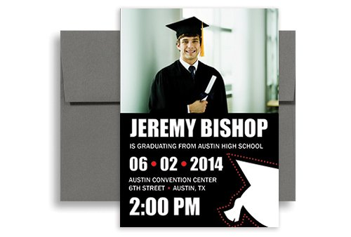 Making Graduation Invitations In Photoshop