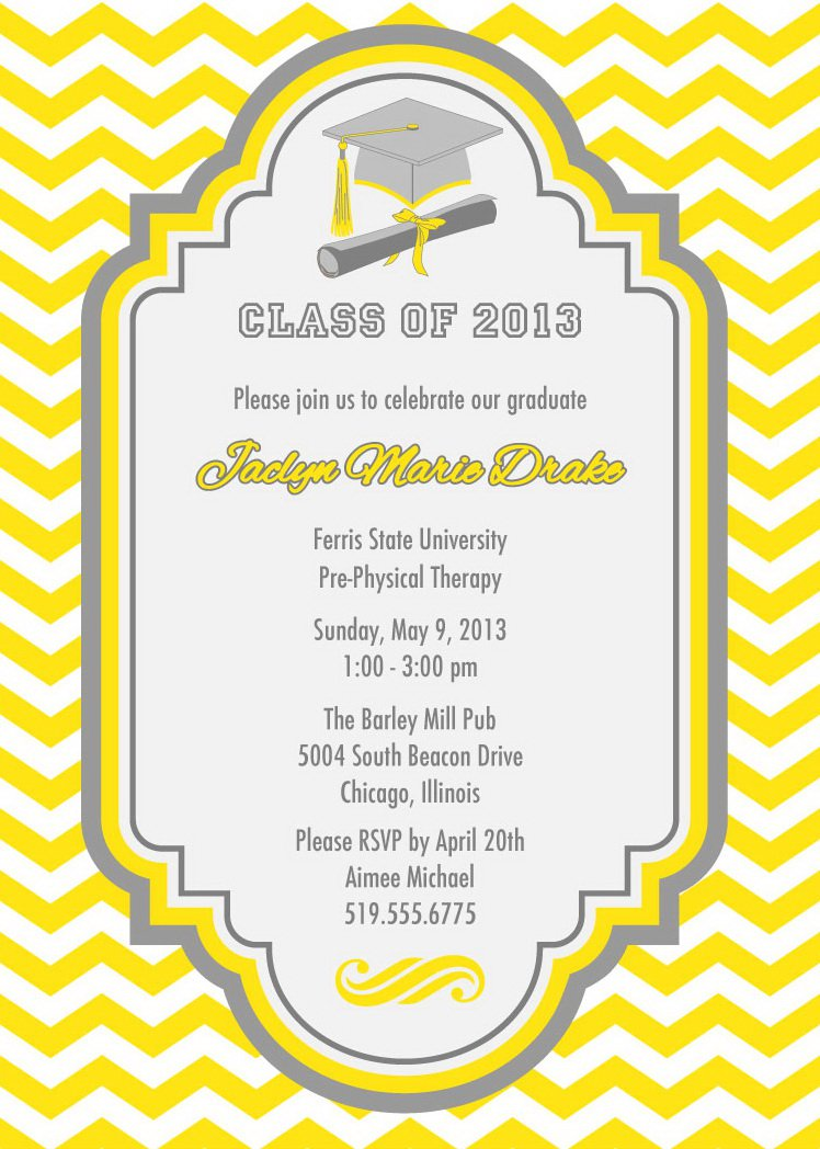 Making Graduation Invitations Online