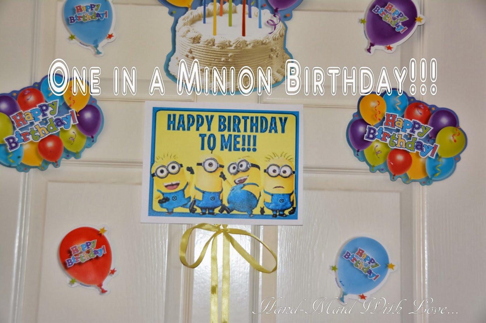 Making Minion Invitations