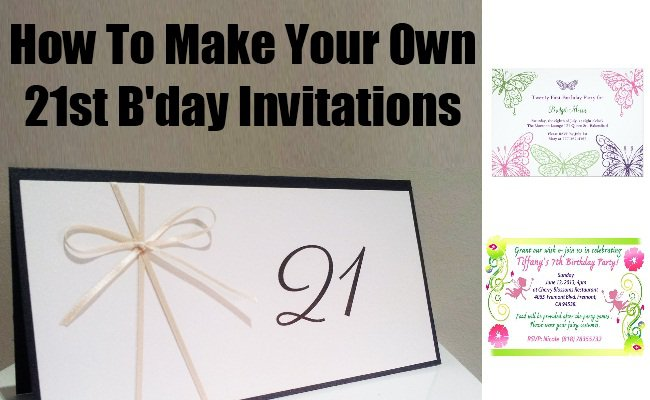 Making Own Party Invitation