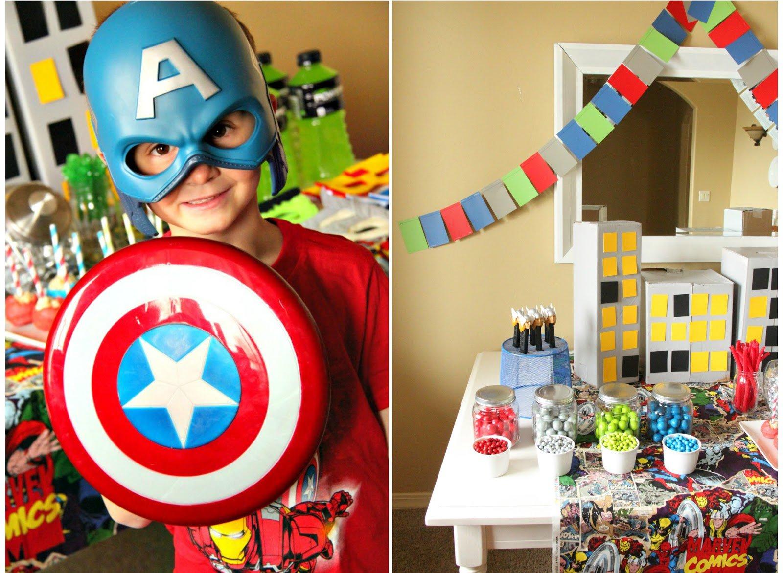 Marvel Avengers Birthday Party Invitations