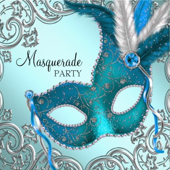 Masquerade Invitation Templates