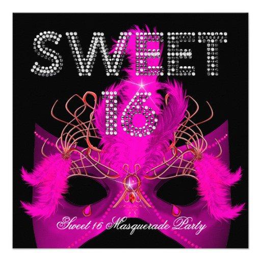 Masquerade Party Invitation Ideas