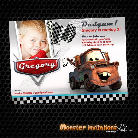 Mater Birthday Invitations