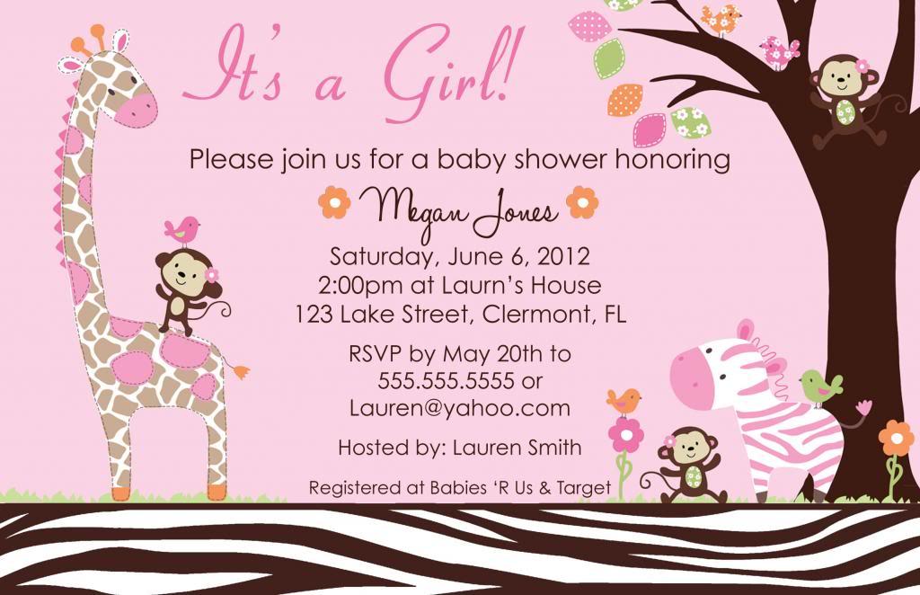 Meijer Bridal Shower Invitations