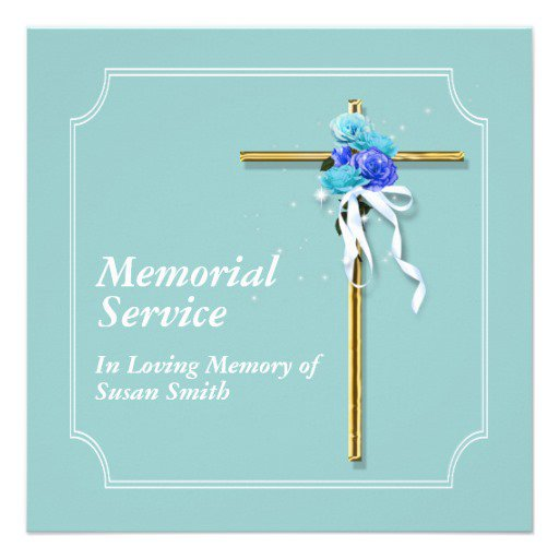 Memorial Event Invitations