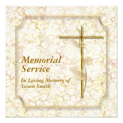 Memorial Party Invitation Wording