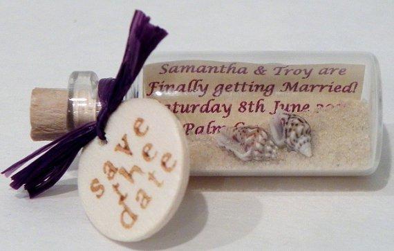 Message In A Bottle Wedding Invitations Diy